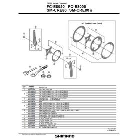 Shimano Steps FC-E8050 Kranksett Svart